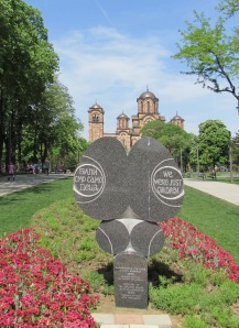 Belgrade Children's Memorial and St. Mark's