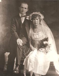 Edward and Rose Dolgan Wedding 1921 001