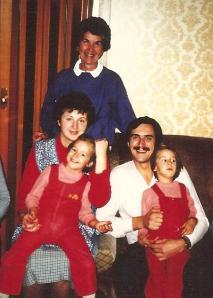 Mom Marijan Karmen and twins 1987