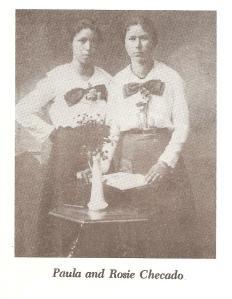 Sisters Paula and Rose Cekado