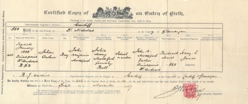 certified-copy-of-an-entry-of-birth-arthur-julian-mockford-b-1888